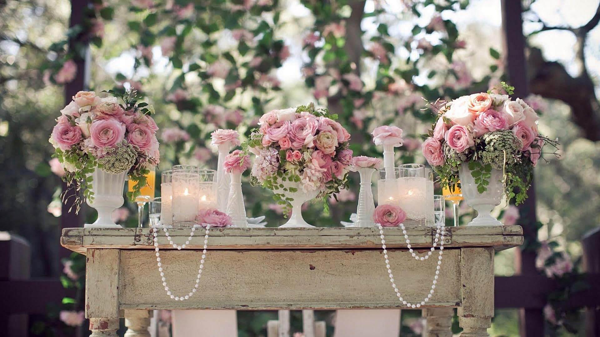 Свадьба в стиле шебби шик - романтичность и неповторимость